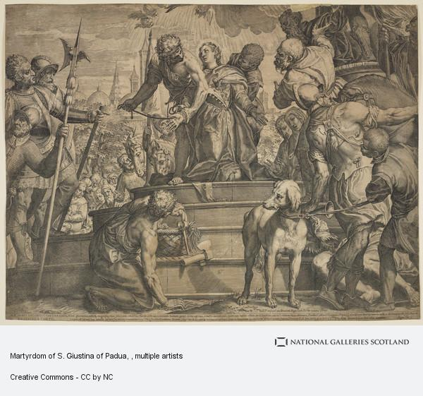 Paolo Caliari, Martyrdom of S. Giustina of Padua