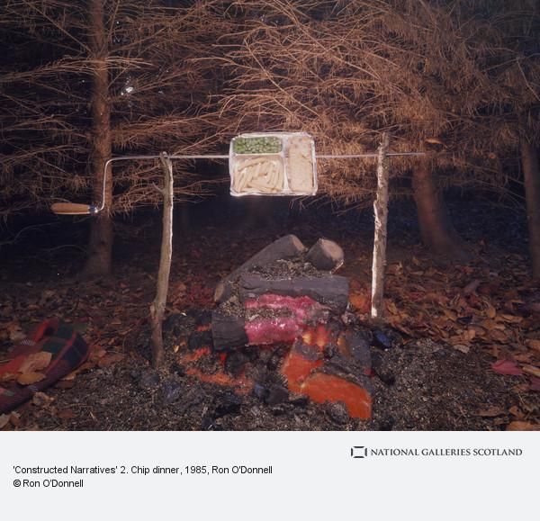 Ron O'Donnell, 'Constructed Narratives' 2. Chip dinner