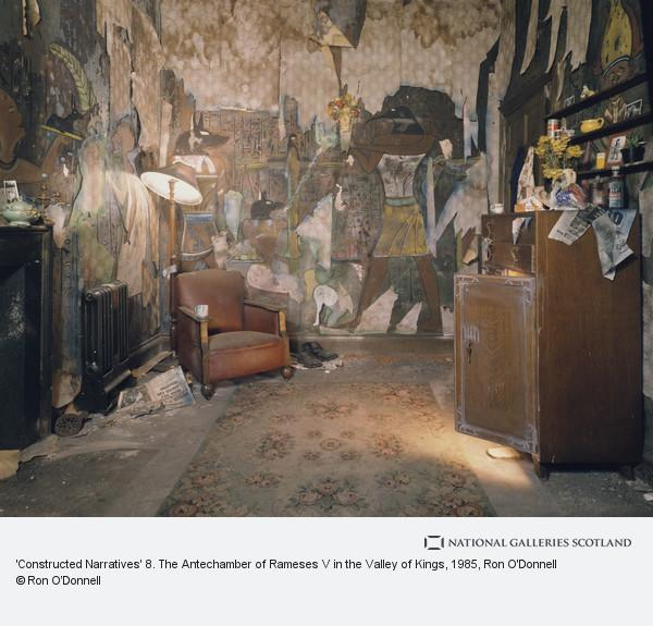 Ron O'Donnell, 'Constructed Narratives' 8. The Antechamber of Rameses V in the Valley of Kings