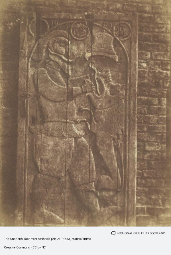 David Octavius Hill, The Charteris door from Amisfield [Art 21]