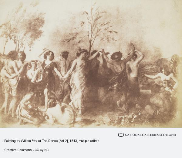 David Octavius Hill, Painting by William Etty of The Dance [Art 2]