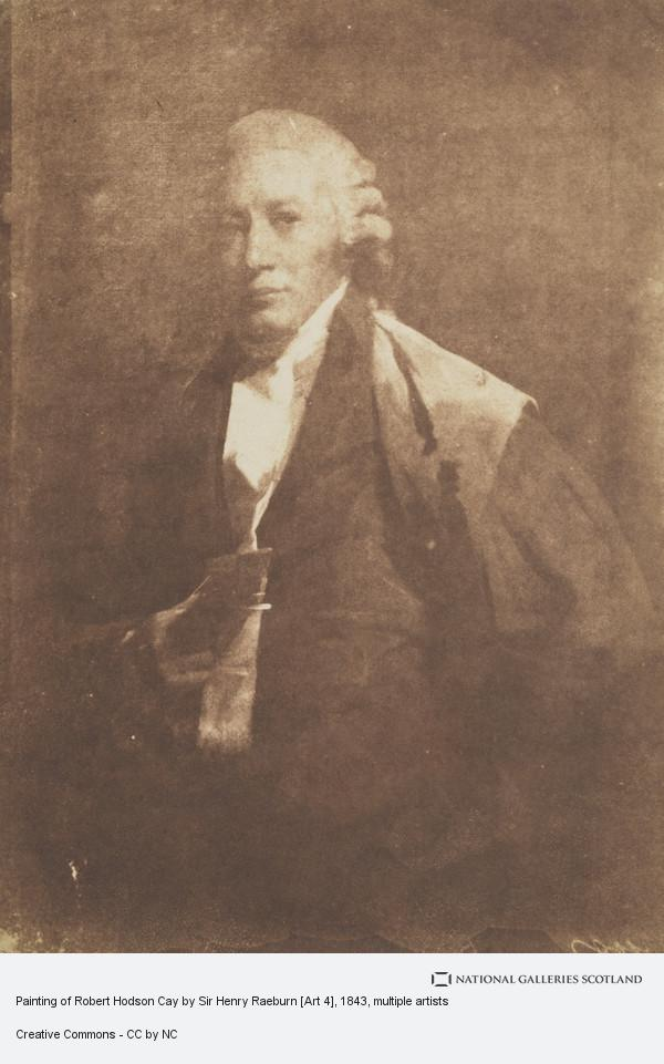 David Octavius Hill, Painting of Robert Hodson Cay by Sir Henry Raeburn [Art 4]