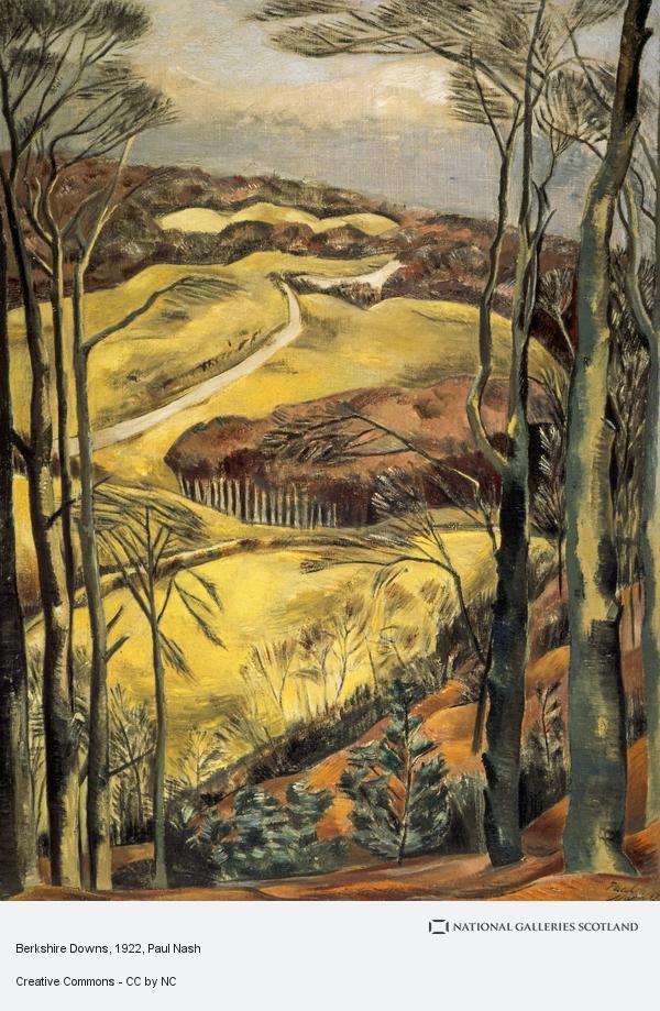 Paul Nash, Berkshire Downs