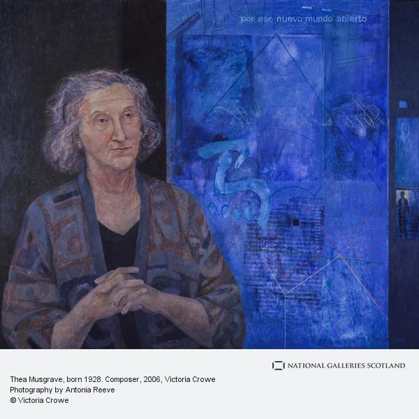 Victoria Crowe, Thea Musgrave, born 1928. Composer