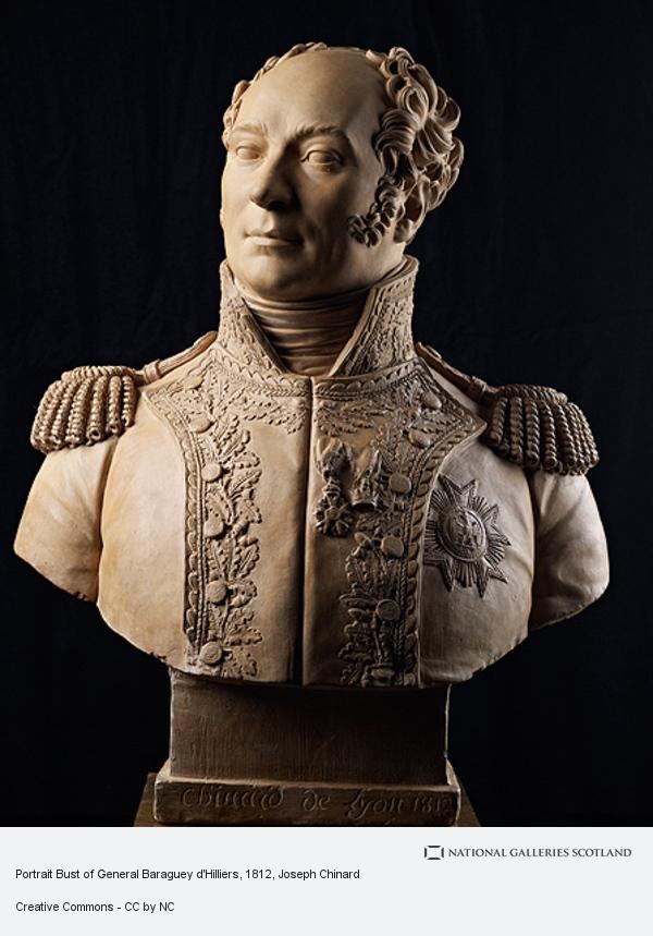 Joseph Chinard, Portrait Bust of General Piston