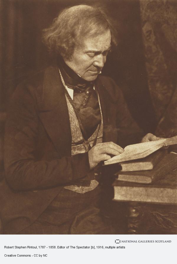 David Octavius Hill, Robert Stephen Rintoul, 1787 - 1858. Editor of The Spectator [b]