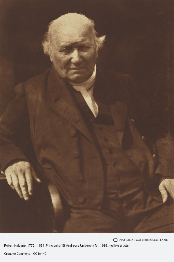 David Octavius Hill, Robert Haldane, 1772 - 1854. Principal of St Andrews University [c]