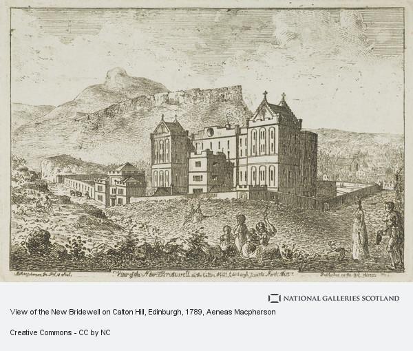 Aeneas Macpherson, View of the New Bridewell on Calton Hill, Edinburgh