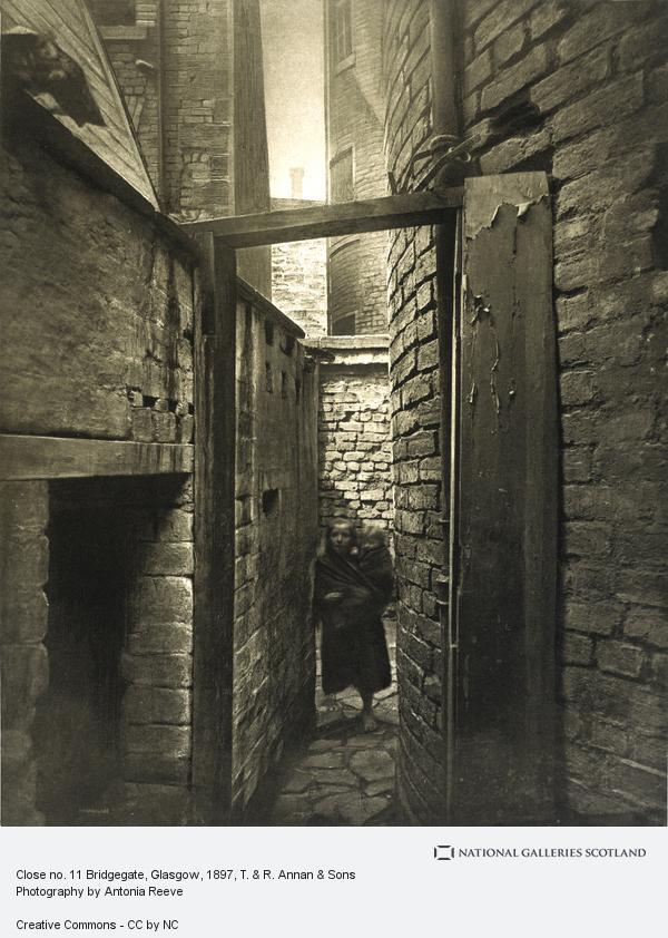 , Close no. 11 Bridgegate, Glasgow (1897)