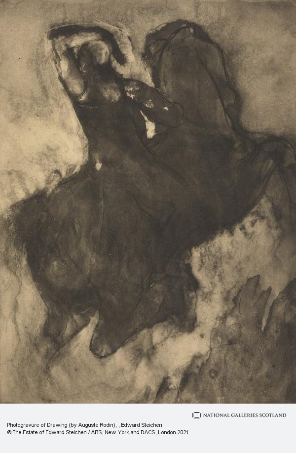 Edward Steichen, Photogravure of Drawing (by Auguste Rodin)
