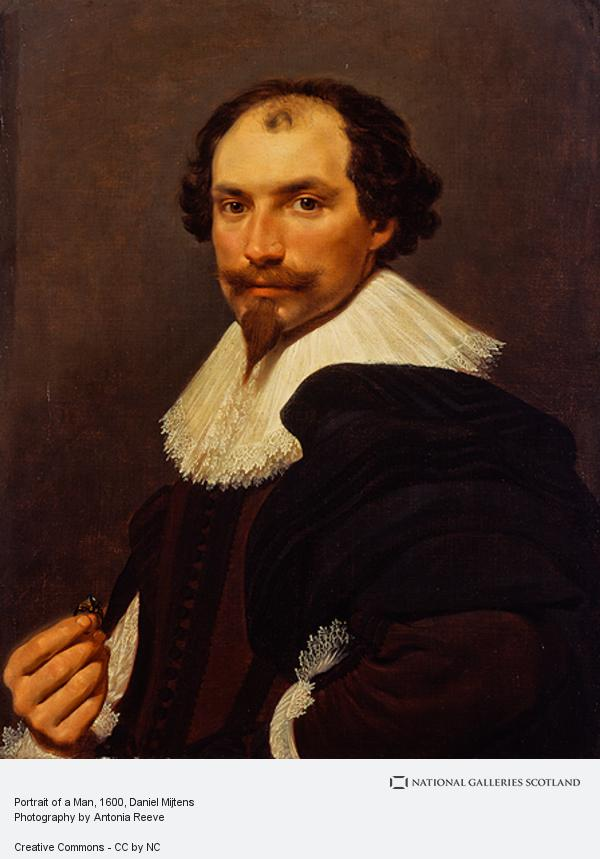 Daniel Mijtens, Portrait of a Man