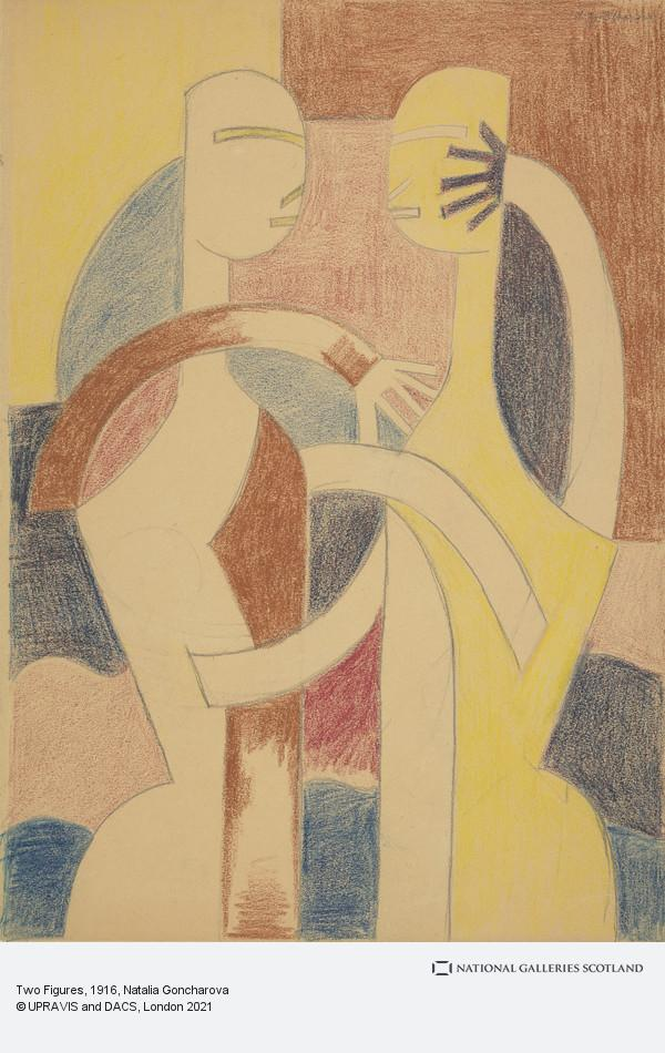 Natalia Goncharova, Two Figures
