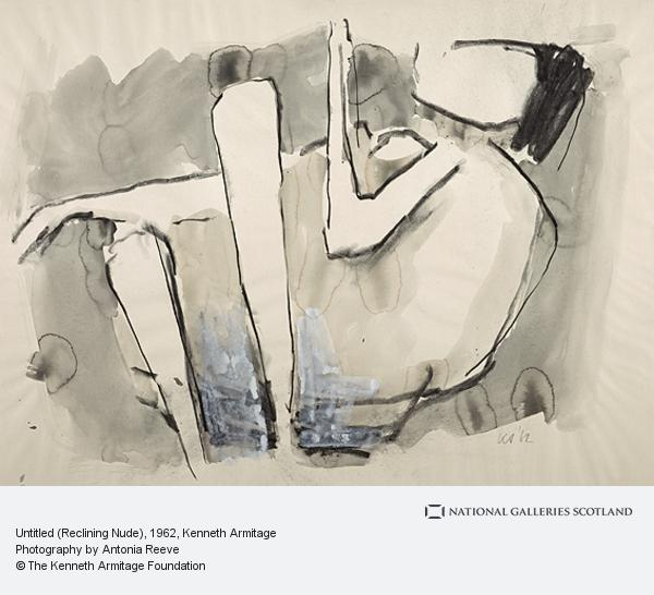 Kenneth Armitage, Untitled (Reclining Nude)