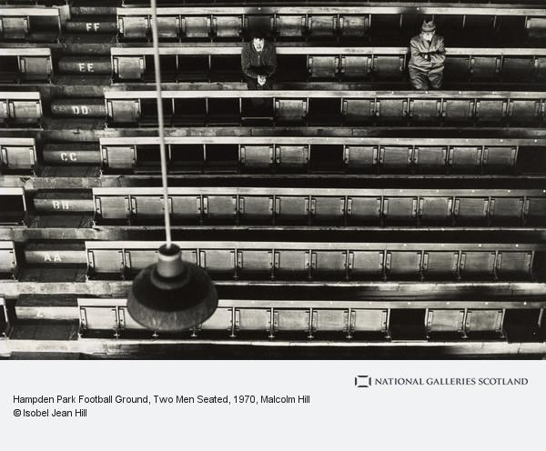 Malcolm Hill, Hampden Park Football Ground, Two Men Seated