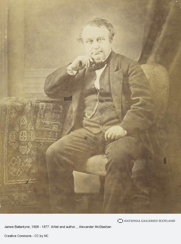 Alexander McGlashon, James Ballantyne, 1808 - 1877. Artist and author