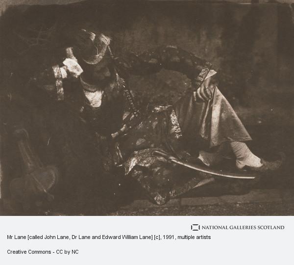 Robert Adamson, Mr Lane [called John Lane, Dr Lane and Edward William Lane] [c]