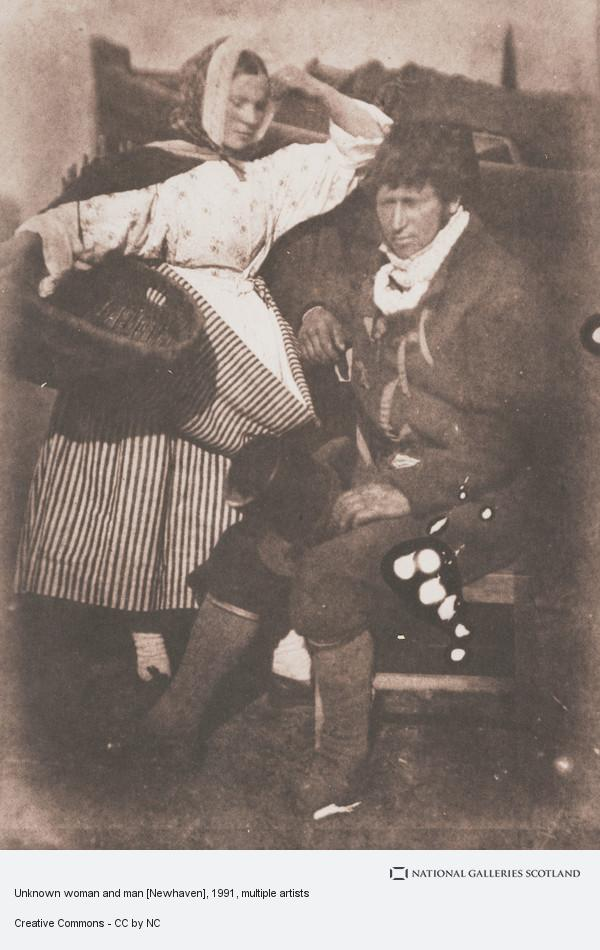 David Octavius Hill, Unknown woman and man [Newhaven]