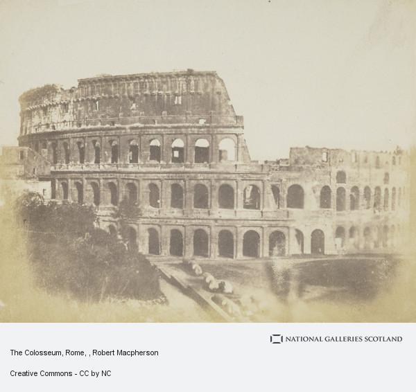 Robert Macpherson, The Colosseum, Rome