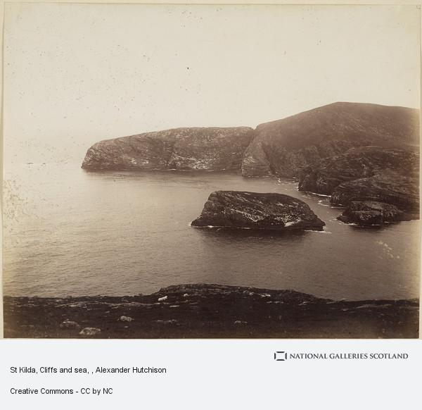 Alexander Hutchison, St Kilda, Cliffs and sea