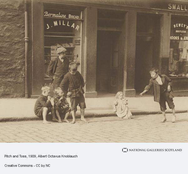 Albert Octavus Knoblauch, Pitch and Toss (1909)