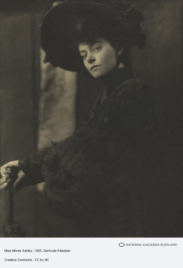 Gertrude Kasebier, Miss Minnie Ashley (April 1905)