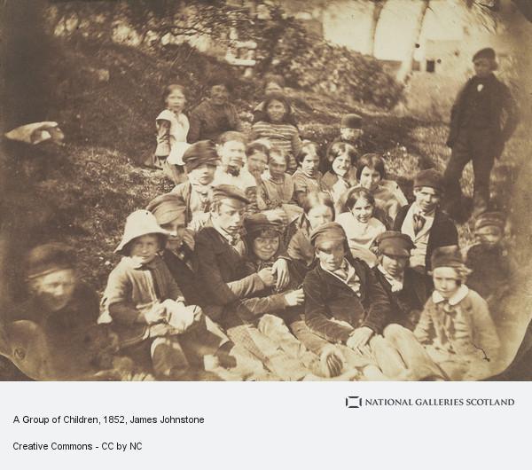 James Johnstone, A Group of Children