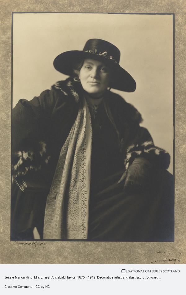 Edward Drummond Young, Jessie Marion King, Mrs Ernest Archibald Taylor, 1875 - 1949. Decorative artist and illustrator
