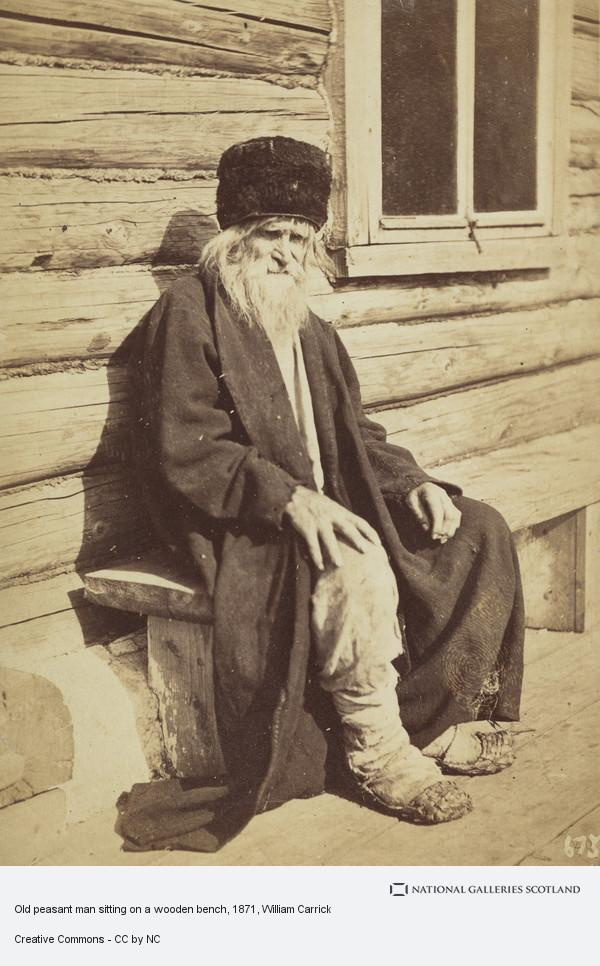 Enjoyable Old Peasant Man Sitting On A Wooden Bench National Ocoug Best Dining Table And Chair Ideas Images Ocougorg