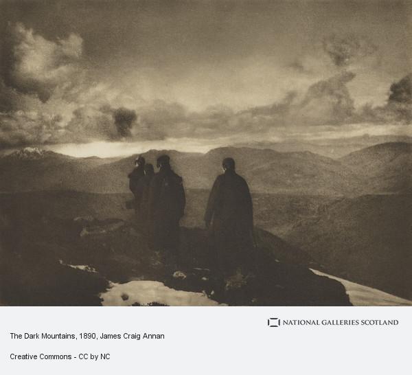 James Craig Annan, The Dark Mountains (1890)