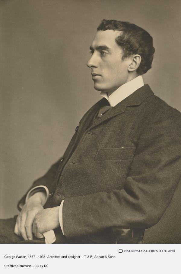T. & R. Annan & Sons, George Walton, 1867 - 1933. Architect and designer