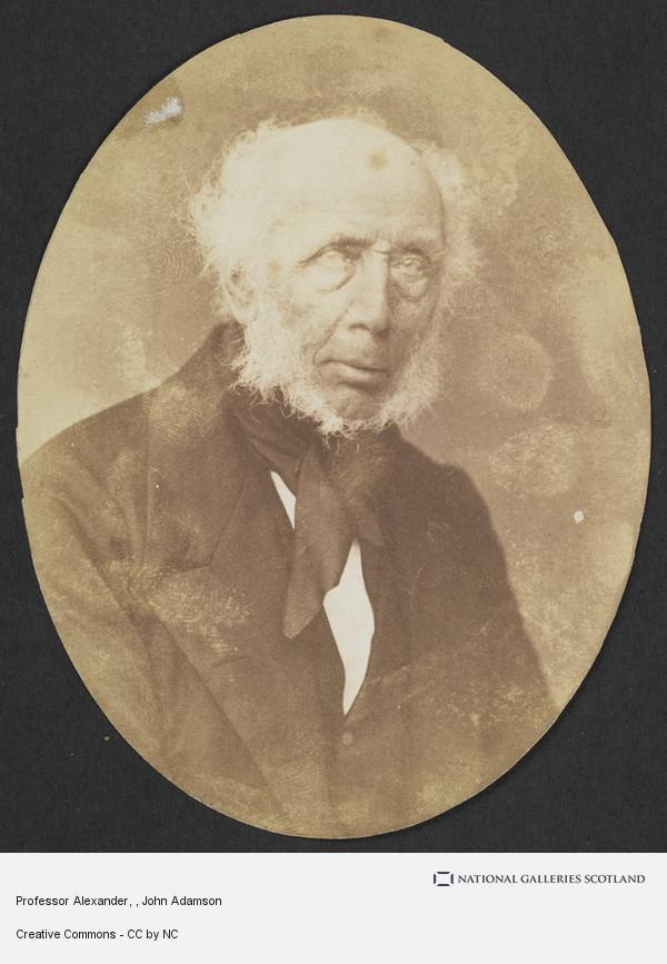 John Adamson, Professor Alexander