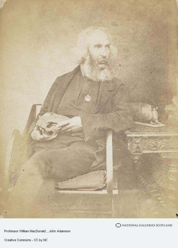 John Adamson, Professor William MacDonald