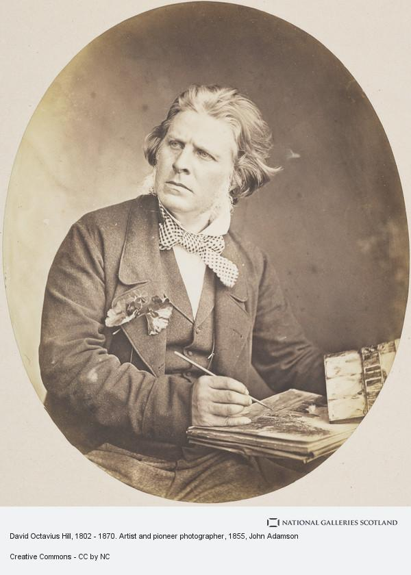John Adamson, David Octavius Hill, 1802 - 1870. Artist and pioneer photographer