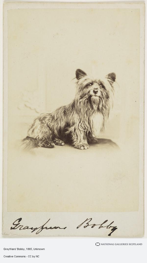 Unknown, Greyfriars Bobby (About 1865)