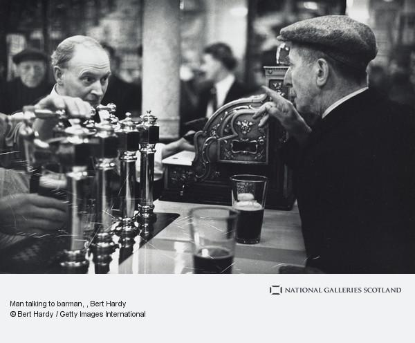 Bert Hardy, Man talking to barman