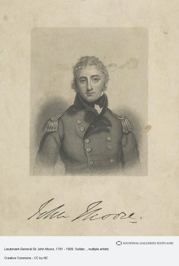 Unknown, Lieutenant-General Sir John Moore, 1761 - 1809. Soldier