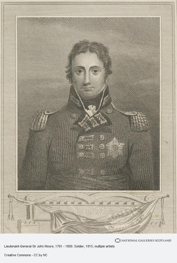 J.G. Walker, Lieutenant-General Sir John Moore, 1761 - 1809. Soldier