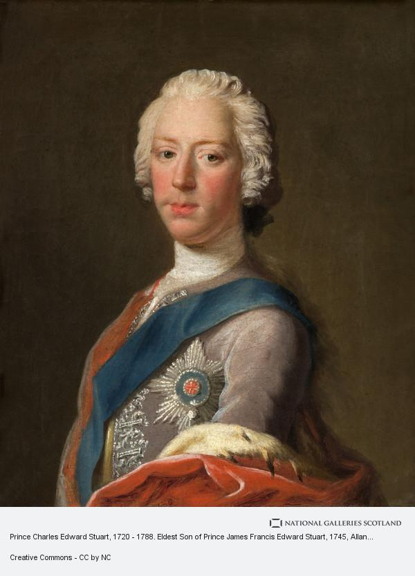 Allan Ramsay, Prince Charles Edward Stuart, 1720 - 1788. Eldest Son of Prince James Francis Edward Stuart