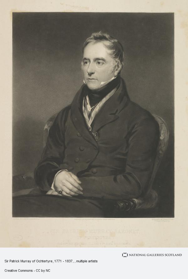 Sir John Watson Gordon, Sir Patrick Murray of Ochtertyre, 1771 - 1837