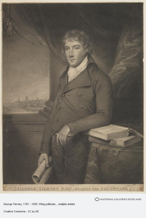 Nuller, George Tierney, 1761 - 1830. Whig politician