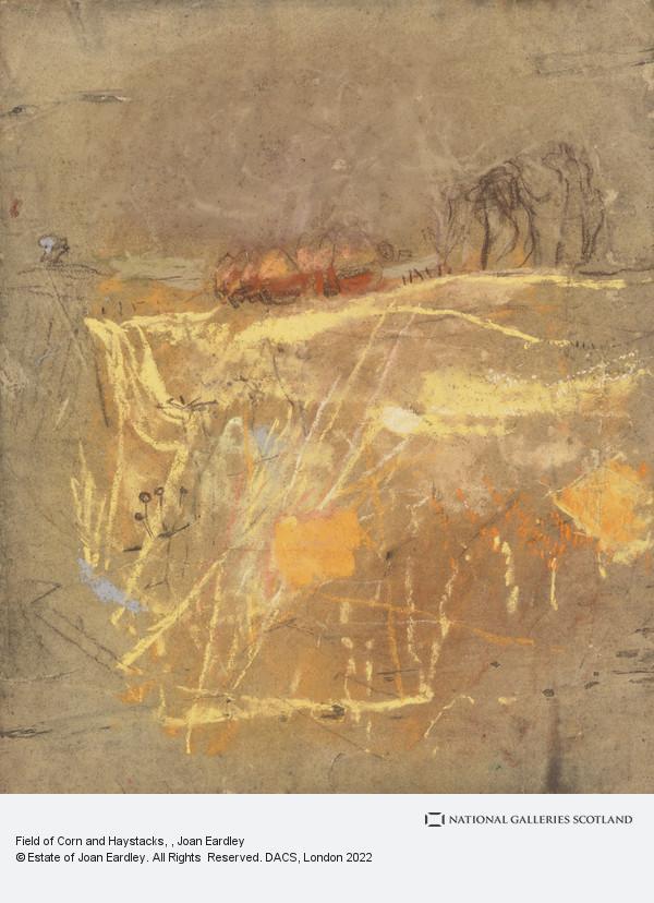 Joan Eardley, Field of Corn and Haystacks