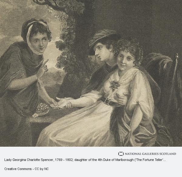 Lady Georgina Charlotte Spencer, 1769 - 1802