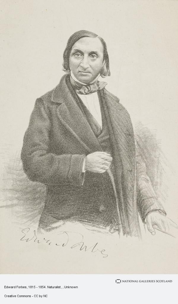 Unknown, Edward Forbes, 1815 - 1854. Naturalist