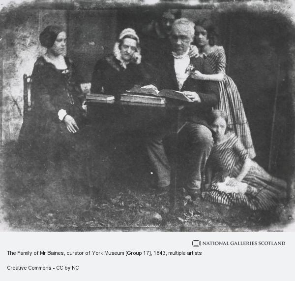 David Octavius Hill, The Family of Mr Baines, curator of York Museum [Group 17]
