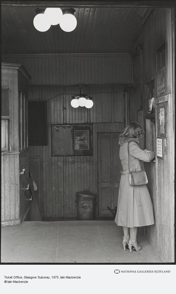 Iain Mackenzie, Ticket Office, Glasgow Subway