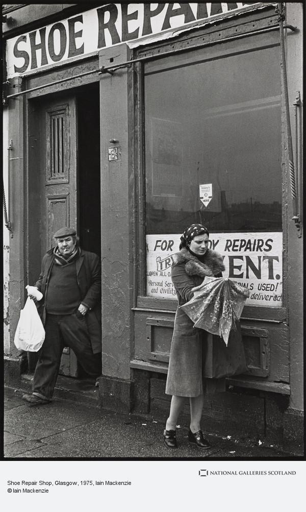 Iain Mackenzie, Shoe Repair Shop, Glasgow