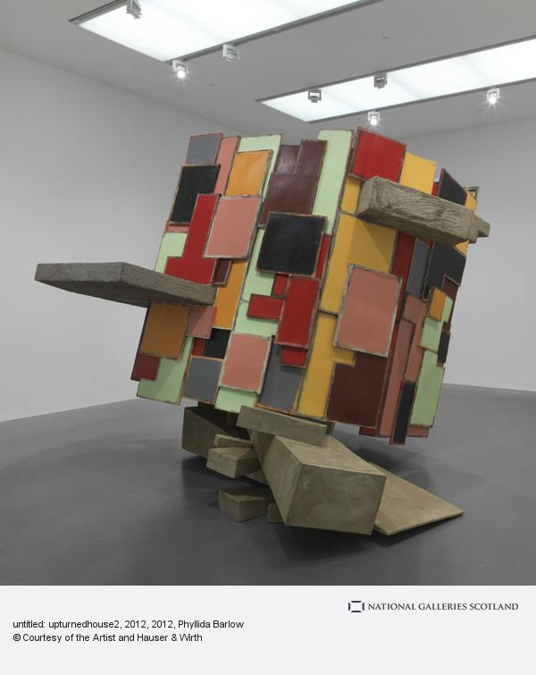 Phyllida Barlow, untitled: upturnedhouse, 2