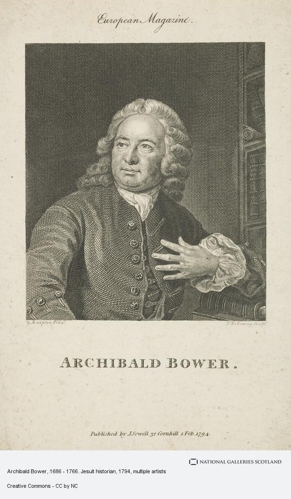 Thomas Holloway, Archibald Bower, 1686 - 1766. Jesuit historian