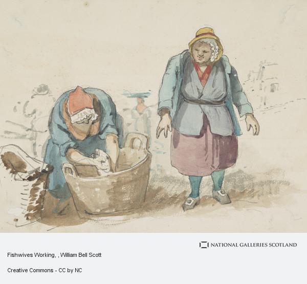 William Bell Scott, Fishwives Working