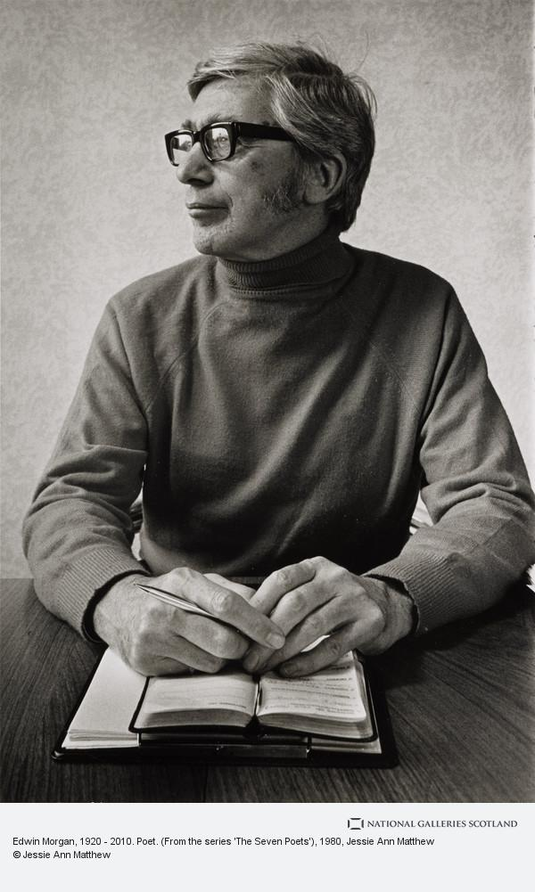 Jessie Ann Matthew, Edwin Morgan, 1920 - 2010. Poet. (From the series 'The Seven Poets')
